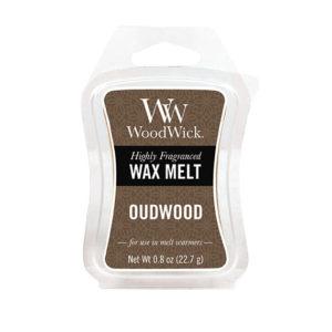 Oudwood-57247 WoodWick Mini Wax Melt